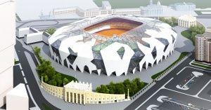 Футбольный стадион в Екатеринбурге (ЧМ2018)